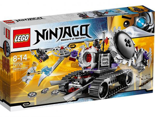 LEGO Ninjago Rebooted Destructoid Exclusive Set #70726
