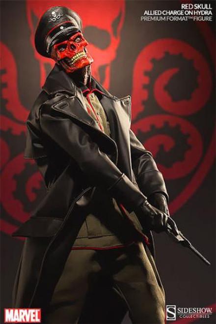 Marvel Premium Format Polystone Red Skull Statue