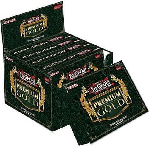 YuGiOh Premium Gold Booster Box [5 Mini Boxes]