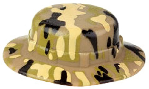 Citizen Brick Custom Painted Multicam Boonie Hat Loose Accessory [Tan Green]