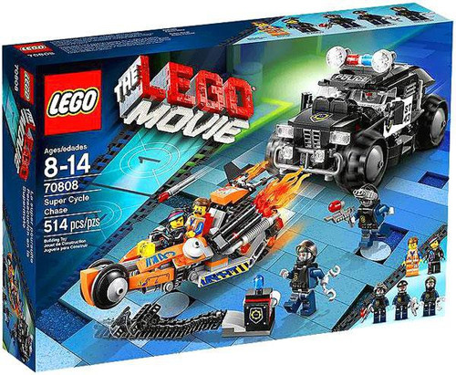 The LEGO Movie Super Cycle Chase Set #70808
