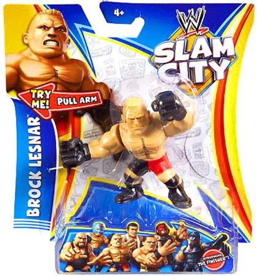 WWE Wrestling Slam City Brock Lesnar Action Figure