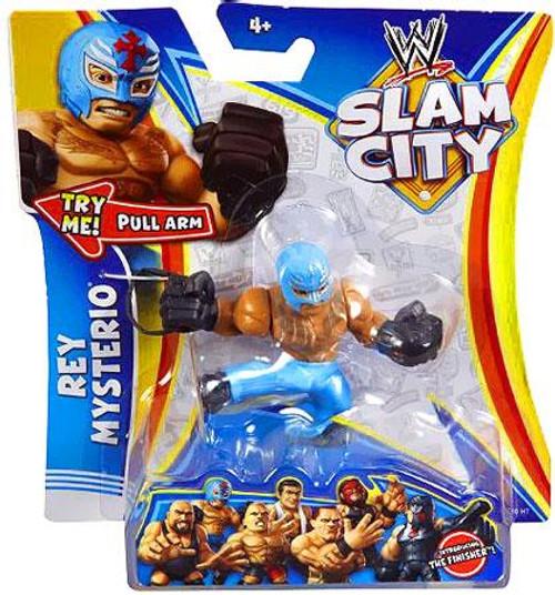 WWE Wrestling Slam City Rey Mysterio Action Figure