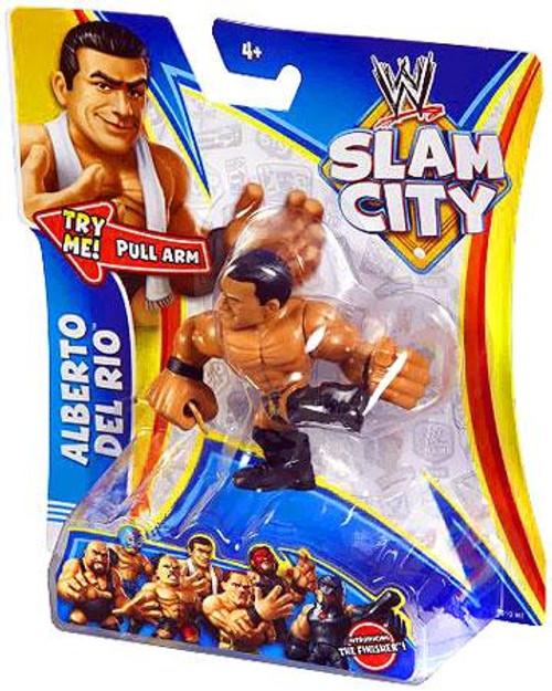 WWE Wrestling Slam City Alberto Del Rio Action Figure