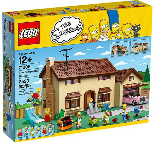 LEGO The Simpsons House Exclusive Set #71006