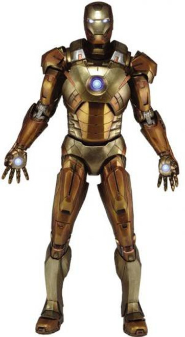 NECA Marvel Avengers Quarter Scale Iron Man Exclusive Action Figure [Midas Armor]