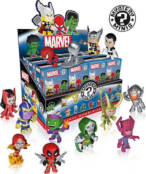 Funko Series 1 Mystery Minis Marvel Mystery Minis Mystery Box [24 Packs]