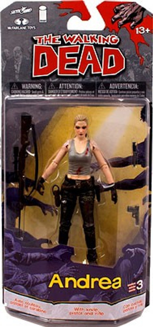 McFarlane Toys Walking Dead Comic Series 3 Andrea Action Figure