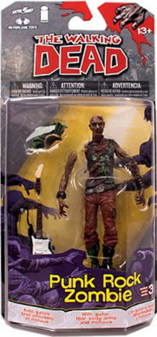 McFarlane Toys Walking Dead Comic Series 3 Punk Zombie Action Figure
