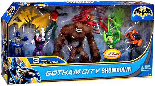 Batman Gotham City Showdown Action Figure 7-Pack