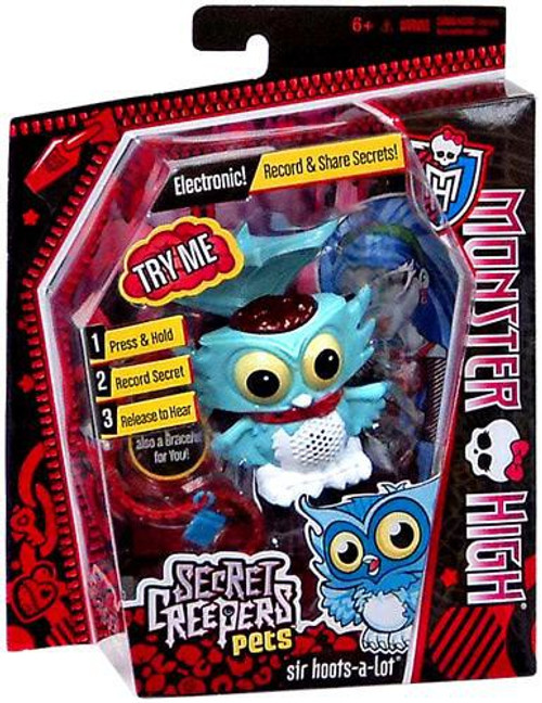 Monster High Secret Creepers Critters Sir Hoots-a-Lot Figure