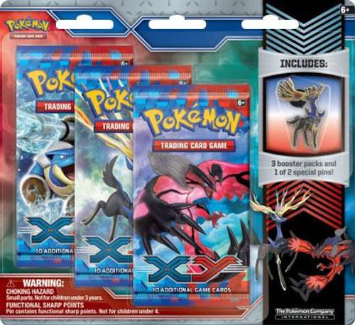 Pokemon XY Xerneas Pin Pack