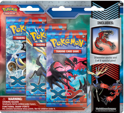 Pokemon XY X & Y Yveltal Pin Pack