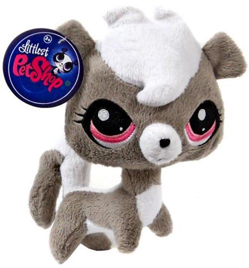 Littlest Pet Shop Pepper Clark Skunk 5-Inch Plush
