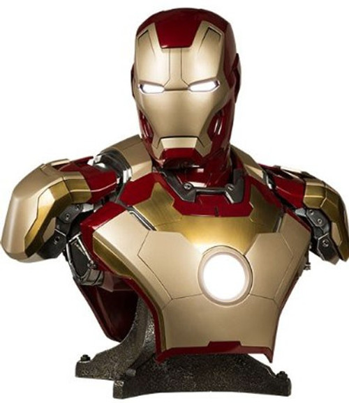 Marvel Iron Man 3 Life Size Iron Man Mark 42 Bust