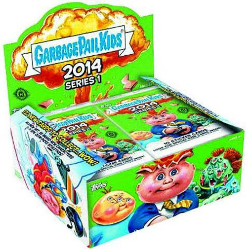 Garbage Pail Kids 2014 Series 1 Trading Card Box [Retail Edition]