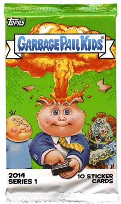 Garbage Pail Kids 2014 Series 1 Trading Card Pack [Retail Edition]