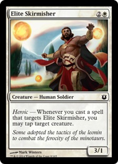 MtG Born of the Gods Common Elite Skirmisher #8