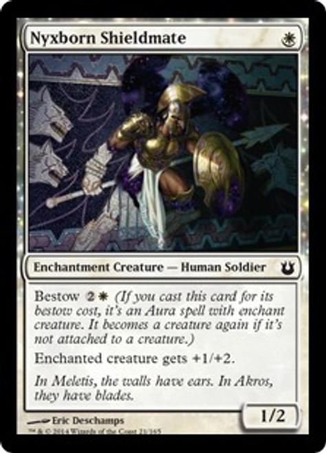 MtG Born of the Gods Common Nyxborn Shieldmate #21