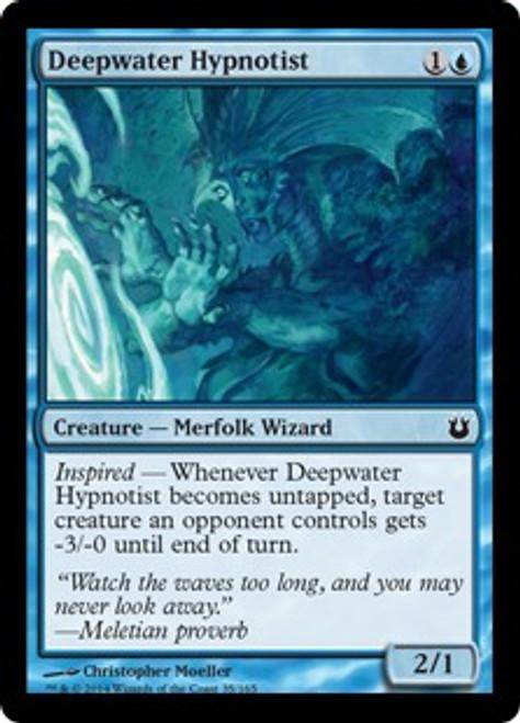 MtG Born of the Gods Common Deepwater Hypnotist #35