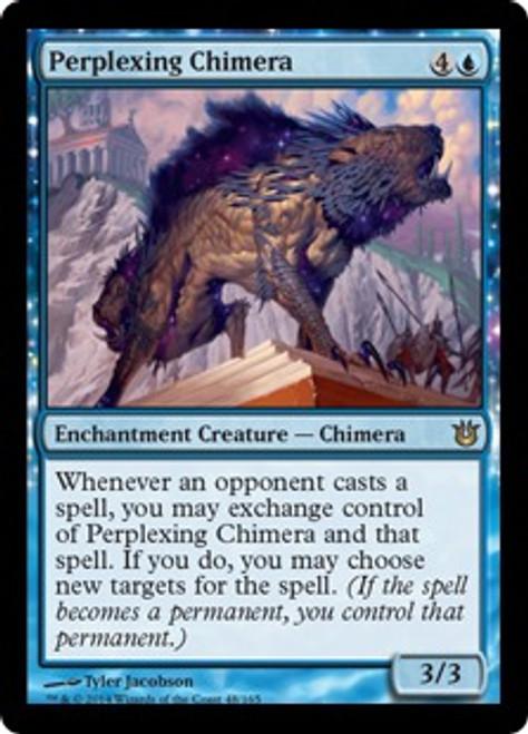 MtG Born of the Gods Rare Perplexing Chimera #48