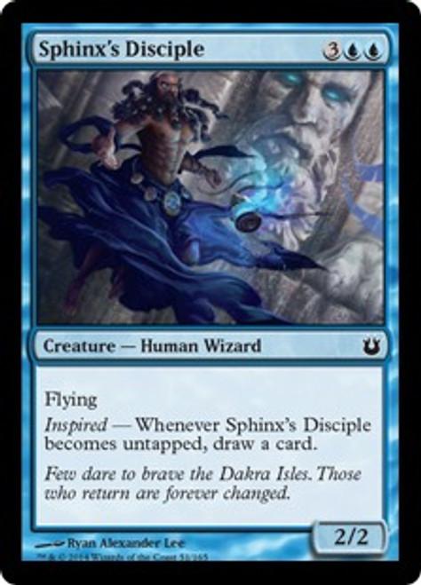 MtG Born of the Gods Common Sphinx's Disciple #51