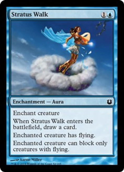 MtG Born of the Gods Common Stratus Walk #52