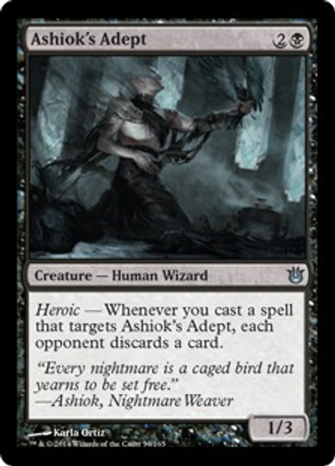 MtG Born of the Gods Uncommon Ashiok's Adept #59