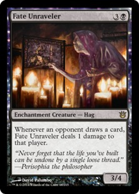 MtG Born of the Gods Rare Fate Unraveler #68