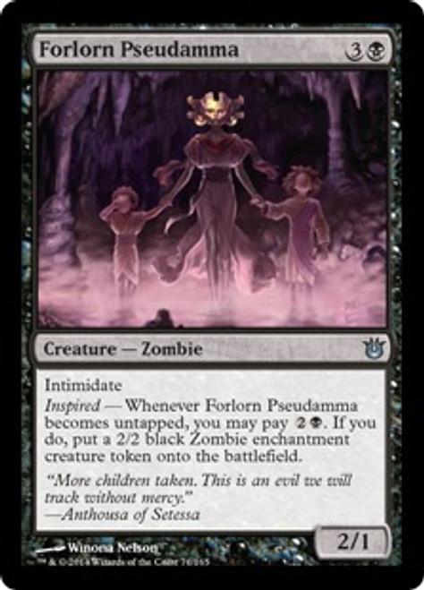 MtG Born of the Gods Uncommon Forlorn Pseudamma #71