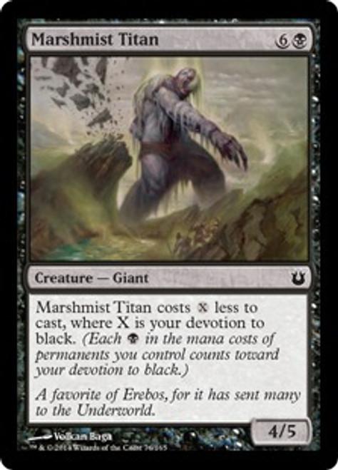 MtG Born of the Gods Common Marshmist Titan #76