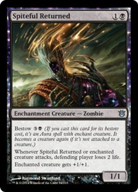 MtG Born of the Gods Uncommon Spiteful Returned #84