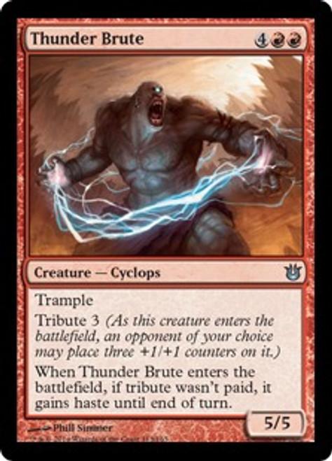 MtG Born of the Gods Uncommon Thunder Brute #113