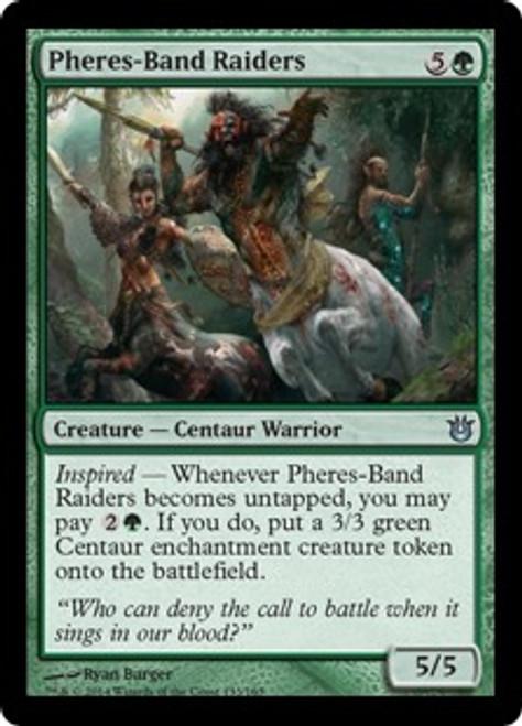 MtG Born of the Gods Uncommon Pheres-Band Raiders #133