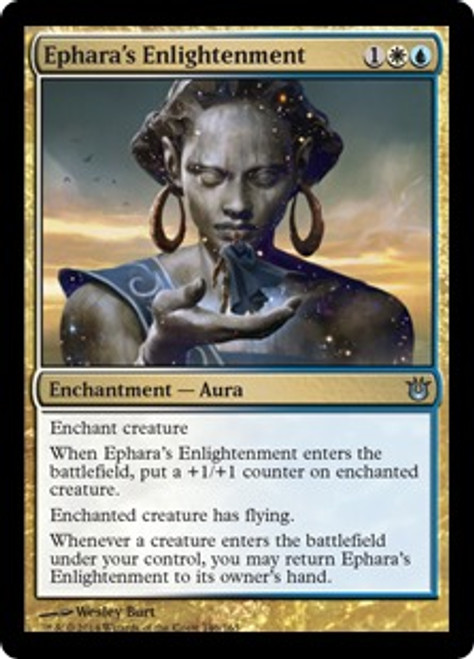 MtG Born of the Gods Uncommon Ephara's Enlightenment #146