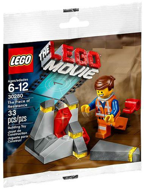 The LEGO Movie The Piece of Resistance Exclusive Mini Set #30280 [Bagged]