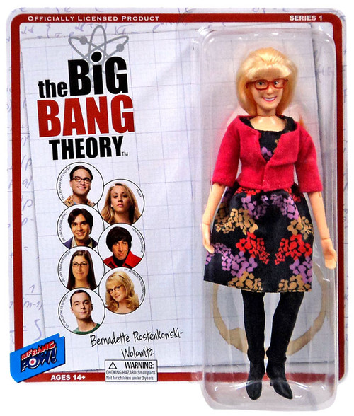 The Big Bang Theory Retro Style Bernadette Action Figure
