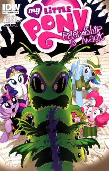 My Little Pony Friendship is Magic Comic Book #16 [Cover A]