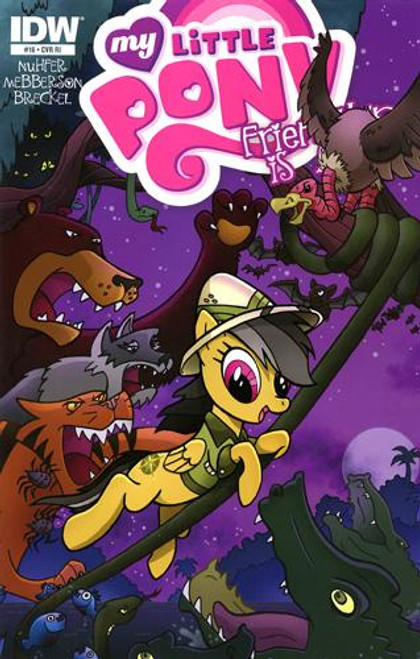 My Little Pony Friendship is Magic Comic Book #16 [Retailer Incentive]