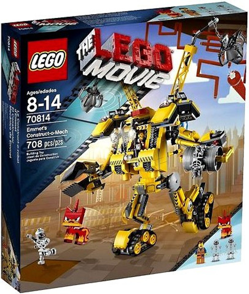 The LEGO Movie Emmet's Constructo-Mech Set #70814