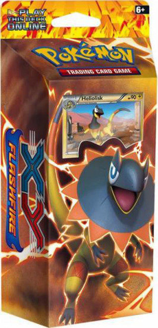 Pokemon XY Flashfire Brilliant Thunder Theme Deck [Sealed]