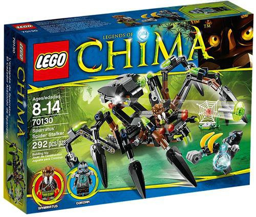 LEGO Legends of Chima Sparratus' Spider Stalker Set #70130