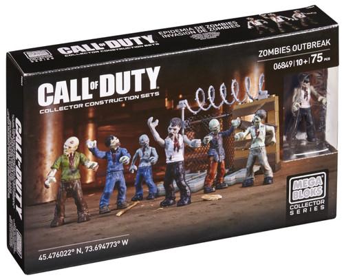 Mega Bloks Call of Duty Zombies Outbreak Set #06849