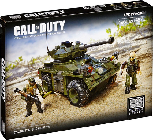 Mega Bloks Call of Duty APC Invasion Set #06856