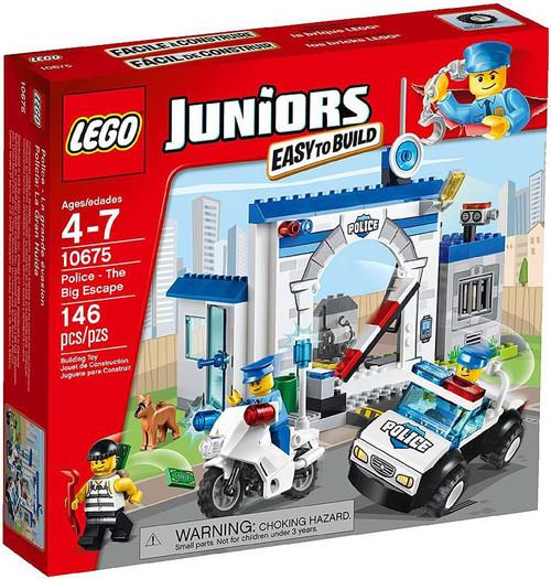 LEGO Juniors Police - The Big Escape Set #10675
