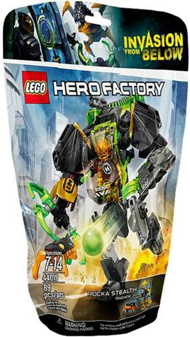 LEGO Hero Factory Rocka Stealth Machine Set #44019