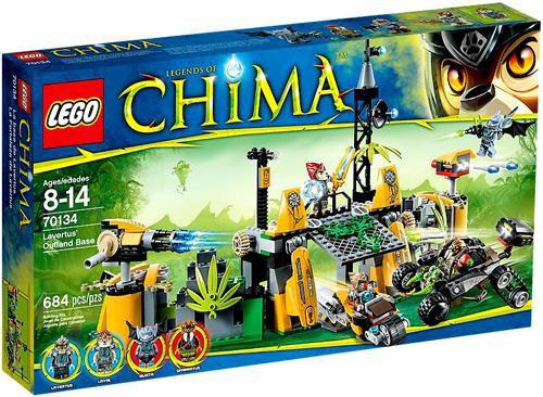 LEGO Legends of Chima Lavertus' Outland Base Set #70134