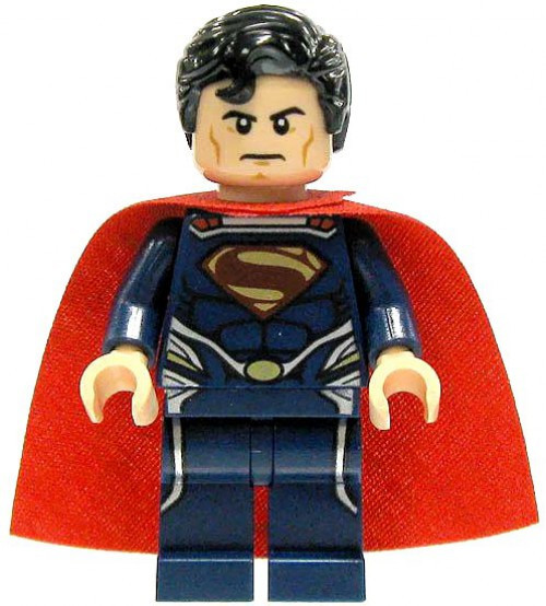 LEGO DC Universe Super Heroes Loose Superman Minifigure [Dark Blue Loose]