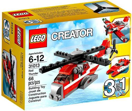 LEGO Creator Red Thunder Set #31013