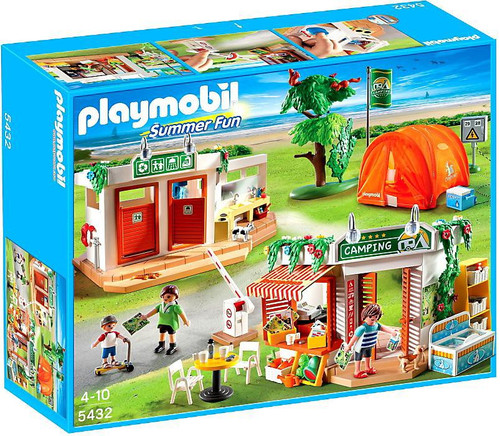 Playmobil Summer Fun Camp Site Set #5432